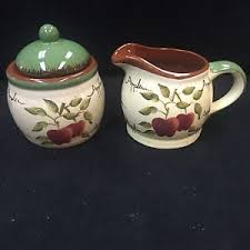 home interiors apple orchard collection home interiors apple orchard collection creamer sugar bowl