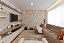 home theater 20 projetos de salas de tv modernas tvs living