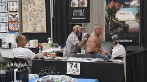 tattoo artists from around the country set up shop in louisville