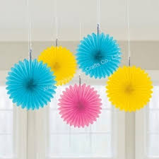 paper decorations paper decorations wall hanging paper fan buy wall hanging paper