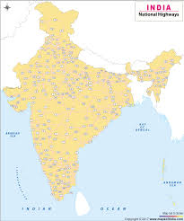national map national highways in india national highway map of india