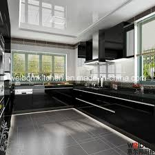 Black Lacquer Kitchen Cabinets Valuable Design Lacquer Kitchen - Black lacquer kitchen cabinets
