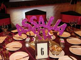 quinceanera decorations for tables quincenera themes images orange and pink b day