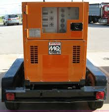 multi quip whisperwatt mq power 45 mobile generator item 5