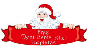 free printable dear santa letter templates hd writing co