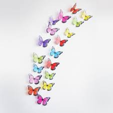 Crystal Pcs D Butterflies DIY Home Decor Wall Stickers For Kids - Butterfly kids room