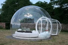chambres bulles une nuit sous les étoiles cagne ou un peu de hors