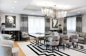 black and white home interior 7 snazzy interiors inspired by la la land nonagon style