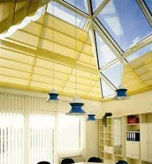 Wrexham Blinds Conservatory Pleated Roof Blinds In Carnival Cocoa Wrexham