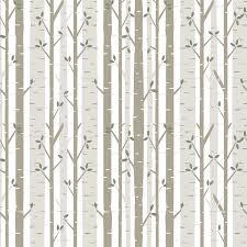 birch tree fabric wallpaper bartlett u0026craft spoonflower