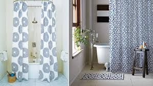 curtain ideas for bathrooms designer your shower curtain the home design sle modern