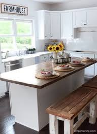 diy kitchen benches farmhouse style kitchen kitchen benches and