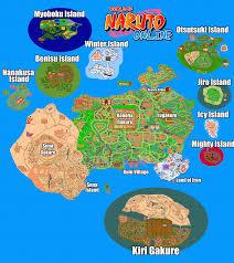 Naruto World Map by Wono