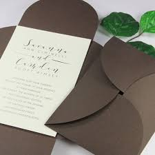 pocket invitation envelopes enchanting pocket envelopes for wedding invitations 20 on wedding