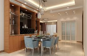 dining room with sliding door and french windows design 3d house