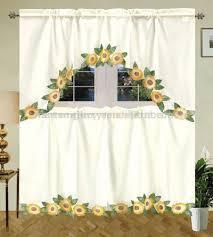 Sunflower Valance Curtains Sunflower Kitchen Stuff Kitchen Dining 24 Inch Tier Only Sets