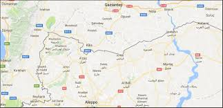 Map Of Al Second Turkish Intervention Into Syria Isis Hands Border Town Of