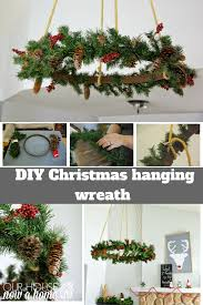 ceiling hanging christmas wreath u2022 our house now a home