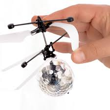 rc flying ball rc helicopter kids toy dazzling led lights