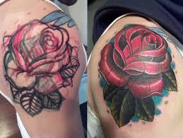 cover up rose tattoo mcnabbs tattoo u0026 fine art artist