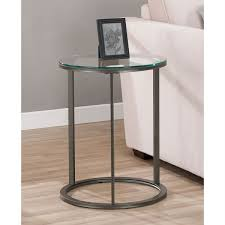 small metal end table small metal end table throughout tables designs glass top round