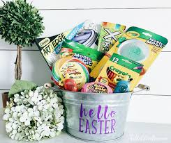 hello easter basket easy easter basket