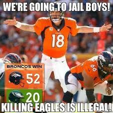 Go Broncos Meme - 79 best i hate the eagles images on pinterest eagles hate and