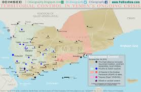 World War 1 Political Map by Yemen Control Map U0026 Report December 2016 Political Geography Now
