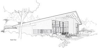 Modern House Plan by Mcm Design Modern House Plan 3 Renderings