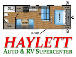 Jayco Travel Trailers Floor Plans by 2018 Jayco Jay Flight Slx 232rb Travel Trailer Coldwater Mi