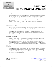 Accountant Resume Template Word Resume Objective Samples Free Resume Example And Writing Download