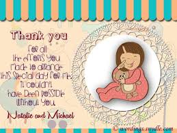thank you notes for baby shower thank you card creative thank you cards for baby shower gif