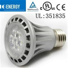 e27 8w dimmable led par20 flood light bulb medium energy saving indoor