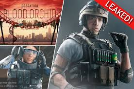Tom Clancy Rainbow Six Siege Blood Orchid Dlc Rainbow Six Siege Operators Leaked Ps4 And Xbox One Blood