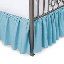 Detachable Bed Skirts Velcro Detachable Bed Skirt Options Linensncurtains Skirts Unt