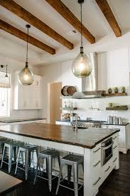 Kitchen Island With Open Shelves 7 Inspiring Kitchens Open Shelving Beams And Buffet