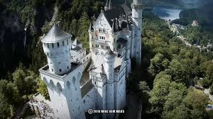 Neuschwanstein Castle Floor Plan by Epic Neuschwanstein Castle Aerial Youtube