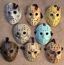 Jason Voorhees Mask On Friday The 13th Michigan Man Dons Award Winning Jason Voorhees