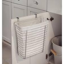 Bathroom Waste Basket by Interdesign Axis Over The Counter Waste Storage Basket Walmart Com