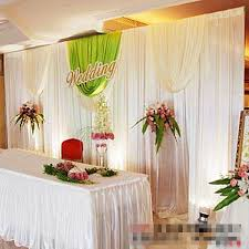 wedding backdrop aliexpress dhl white 3 6m 10ft 20ft wedding backdrop curtain silk