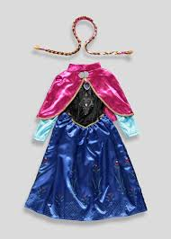 Frozen Costume Kids Anna Frozen 3 11yrs U2013 Matalan