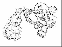 astonishing mario and bowser coloring pages with super mario bros