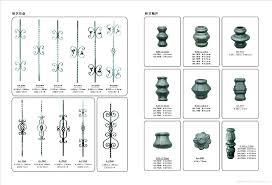wrought iron gates fence decorative accessories iron spear points