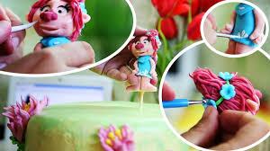 видеоурок принцесса из мф тролли how to make fondant poppy
