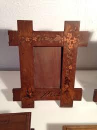 cornici fatte a mano antiche cornici in legno fatte a mano francia 800 circa