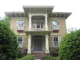the picturesque style italianate architecture the byron loomis