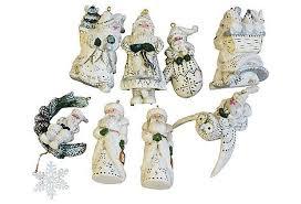 pam schifferl ornaments set of 8 chairish