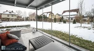 glas balkon terrassen schiebetüren balkon windschutz und wetterschutz aus