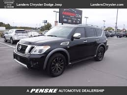 nissan armada 2017 used nissan armada 4x4 platinum navigation dual dvd power