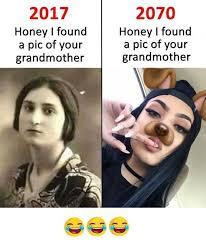 Meme Grandmother - dopl3r com memes 2017 honey i found a pic of your grandmother